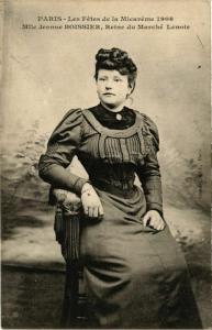 CPA PARIS MI-CAREME 1908 La Reine du Marche Lenoir (576422)