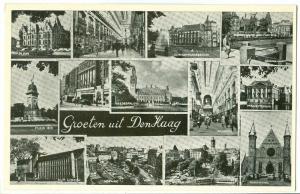 Netherlands, Groeten uit Den Haag, unused Postcard