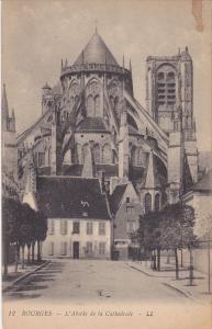 L'Abside De La Cathedrale, Bourges (Cher), France, 1900-1910s