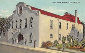 Orlando FL The Lucerne Theatre Postcard
