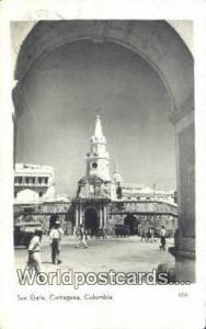 Columbia Cartagena Sun Gate Real Photo