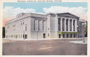 Municipal Auditorium, Colorado Springs, Colorado, 10-20s