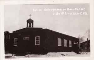 RP: Eglise Notre Dame du Bois-Franc , Ville St Laurent , Quebec , Canada , 10-20