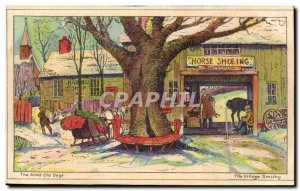 Animals - Horse - Horse - The Good Old Days - Horse Shoeing - The Village Smi...
