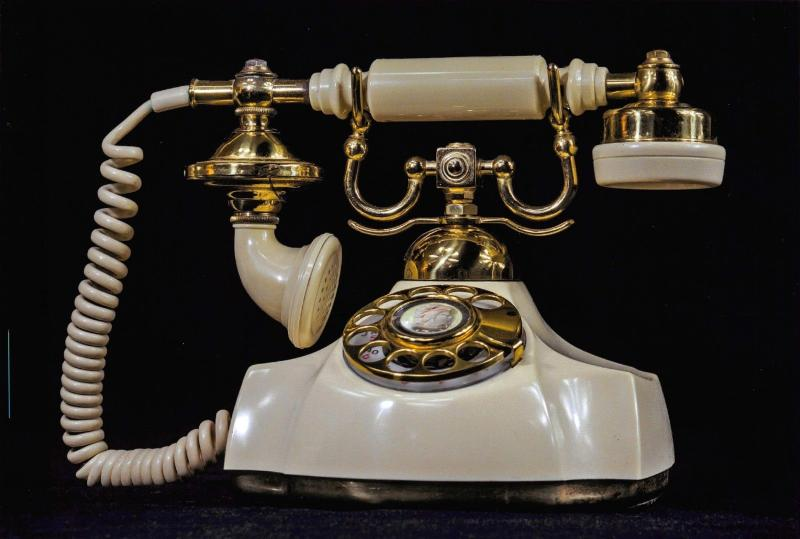 Postcard of a Vintage Telephone X52