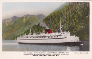 RP, MV Kahloke Passenger Ferry , VANCOUVER , British Columbia , Canada, 10-30s