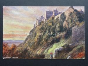 Scotland STIRLING CASTLE c1919 PC by Raphael Tuck & Sons 6157