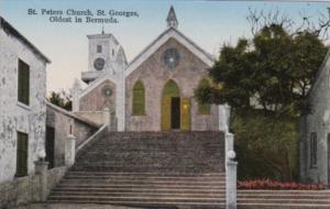 Bermuda St Georges St Peters Church Oldest Church In Bermuda
