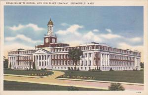Massachusetts Springfield Massachusetts Mutual Life Insurance Company