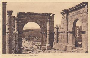 Algeria Djemila Arc du Grand Cardo
