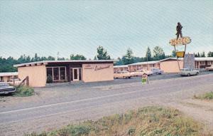Davy Crockett Motel , ABBOTSFORD , B.C. , Canada , 50--60s
