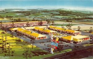 Chattanooga Tennessee~Albert Pick Motel~1959 Postcard