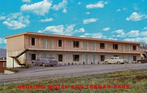 Redford Motel and Trailer Park, VANCOUVER, British Columbia, Canada, 40-60s