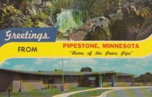 Greetings From Pipestone Minnesota 1967