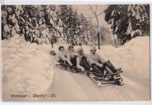 Wintersport i. oberhof i. Th. - Sledding
