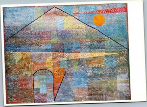 postcard art - Paul Klee - Ad Parnassum