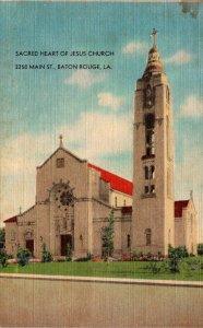Louisiana Baton Rouge Sacred Heart Of Jesus Church 2250 Main Street