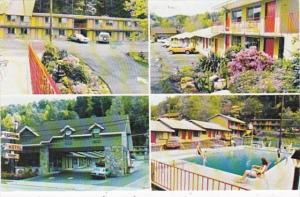 Tennessee Gatlinburg Rainbow Motel 1993