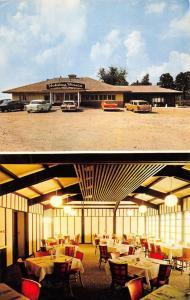 Mount Vernon Iowa Holiday House Restaurant Multiview Vintage Postcard K38295