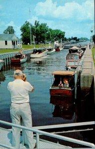 North Carolina Elizabbeth City Locks On Inland Waterway