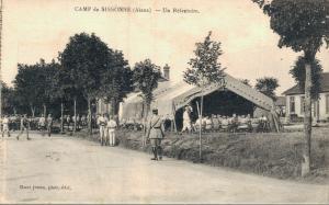 Military Camp de Sissonne WW1 01.75