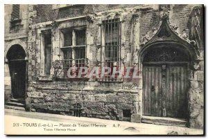 Postcard Old House Tours Tristan the Hermit