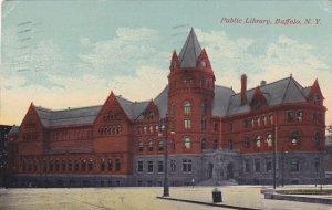 BUFFALO, New York, PU-1912; Public Library