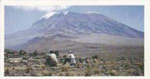 Brooke Bond Tea Vintage Trade Card Features Of The World 1987 No 7 Kilimanjar...