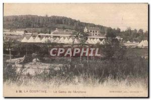 Old Postcard The coutine camp I artillery Army