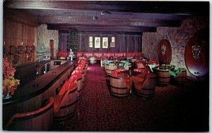 Louisville, Kentucky Postcard CASA GRISANTI Italian Restaurant Wine Cellar Bar