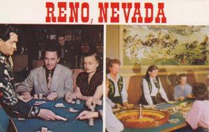 Typical Gambling Casino views from Reno, Nevada, 40-60s