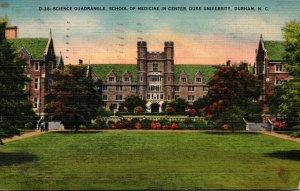 North Carolina Durham Science Quadrangle School Of Medicine In Center Duke Un...
