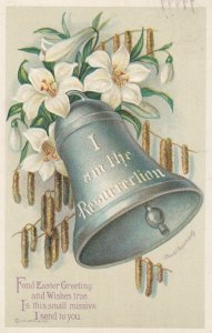 EASTER ; Flowers & Bell #2 , 1917 ; CLAPSADDLE