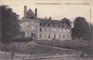 Chateau De La Prousterie A Aveze, Environs De La Ferte Bernard (Sarte), Franc...