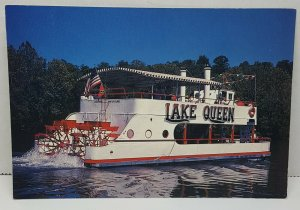 Lake Queen Paddle Wheeler Branson Missouri Vintage Postcard