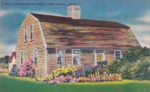 Myles Standish House Built In 1666 Duxbury Massachusetts