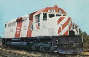 Burlington Northern SDP40 Locomotive No 1776 In Chicago 31 July 1975