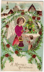 Christmas - Angel with Silk Shirt