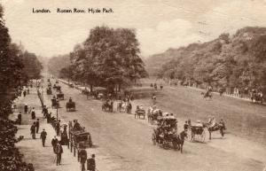 UK - London Rotten Row Hyde Park 01.52