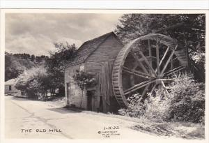 Old Water Mill Chattanooga Tennessee Real Photo