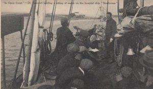LABRADOR , Canada , 1900-10s ; Dr Grenfell , Hospital ship Strathconia