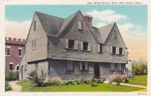 Massachusetts Salem John Ward House Built 1684