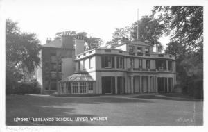 Upper Walmer Deal Kent UK~Leelands School For Girls~Apartments Now~1955 RPPC