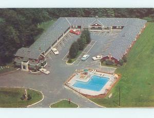 Unused Pre-1980 HILTON MOTEL West Springfield Massachusetts MA M3627