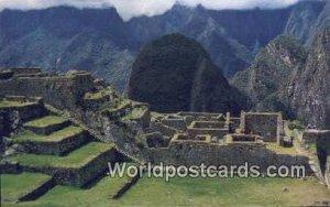 Barrio Industrial y de la Intelectualidad Machupicchu, Peru Unused