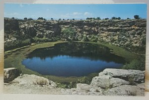 Montezuma Castle National Monument Arizona Vintage Postcard