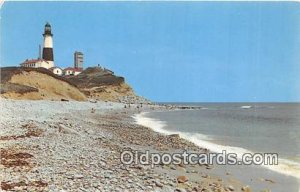 Montauk Point Lighthouse Long Island, NY, USA Unused