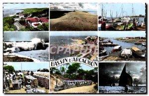 Modern Postcard Bay of Arcachon