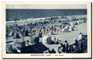 Mimizan Old Postcard Tents