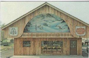Vintage Postcard, Goshen Dairy Store, Sugarcreek, Ohio